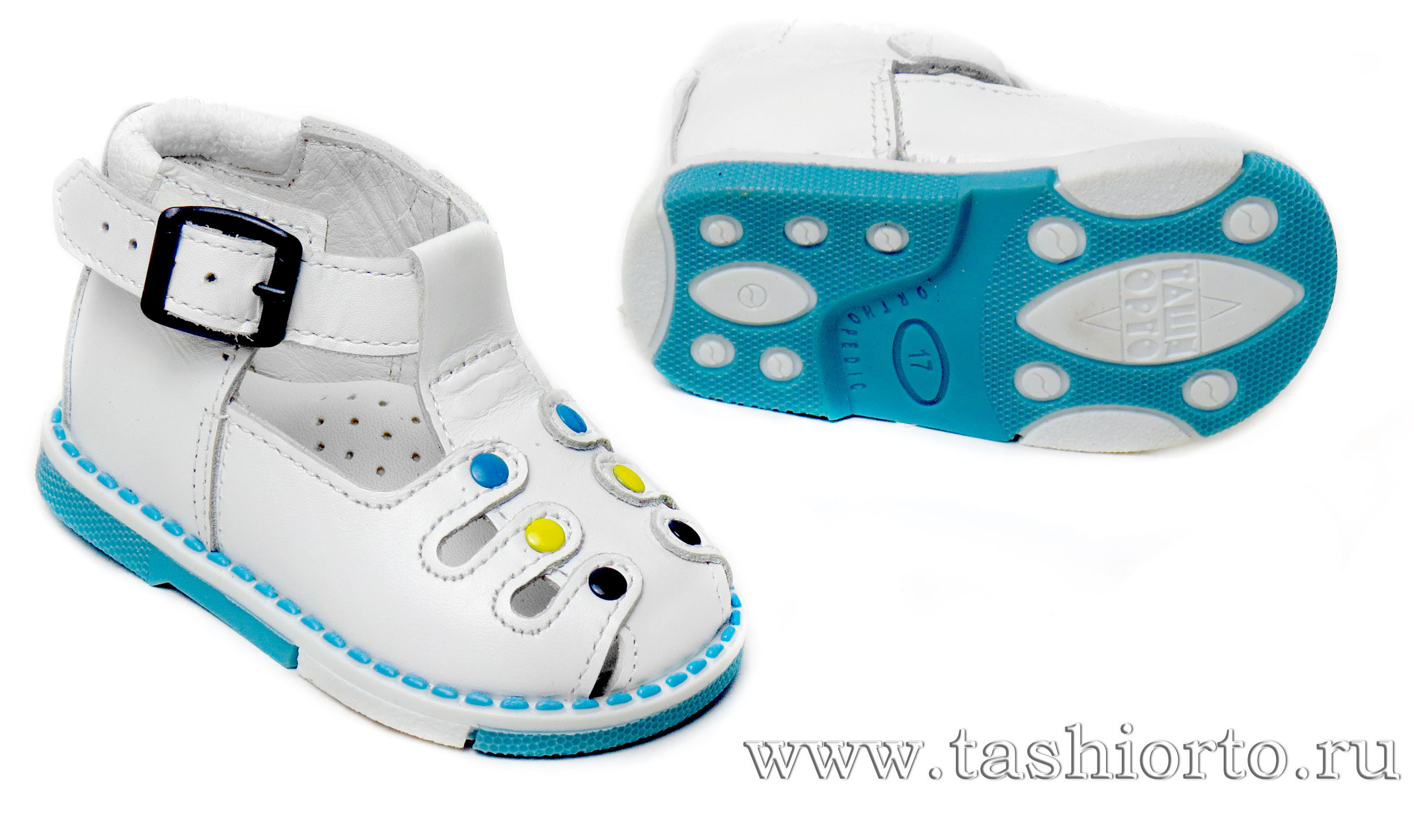 Детские профилактические сандалии